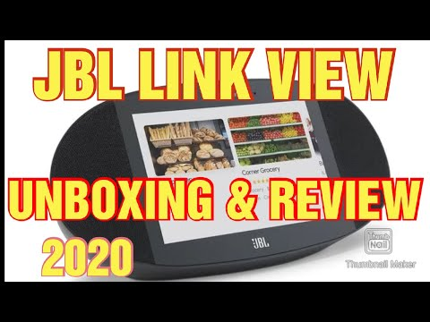 JBL Link View Review Smart Display Google-Powered Display With Audio & Bluetooth Unboxing Review