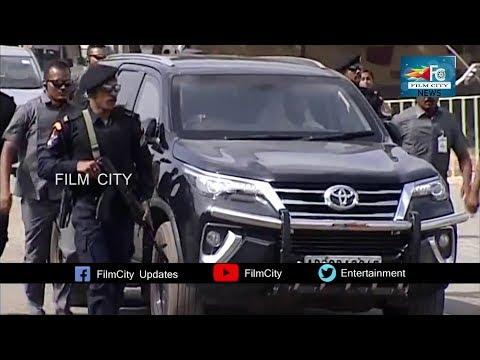 CM YS Jagan Pulivendula high security Convoy Visuals | Goosebumps | FILM CITY