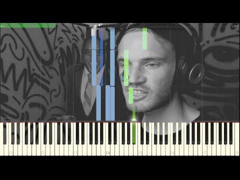 Peaceful Pianos 10 - Martin Klem (Pewdiepie's Sad Music) [Syntheisa Piano Tutorial] thumbnail
