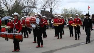 Calgary Stampede Band at Little Britches Parade 2014