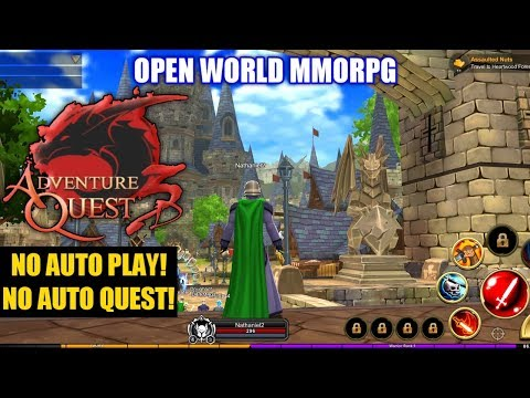 Adventure Quest 3D Gameplay (OPEN WORLD MMORPG) Android/IOS