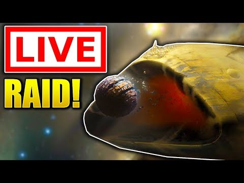 Destiny 2 - THE LEVIATHAN RAID LIVE! (Destiny 2 RAID GAMEPLAY)