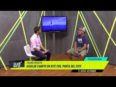 Club Nueve | Federico Aguilar fue 4° en Kite Surf de Punta del Este