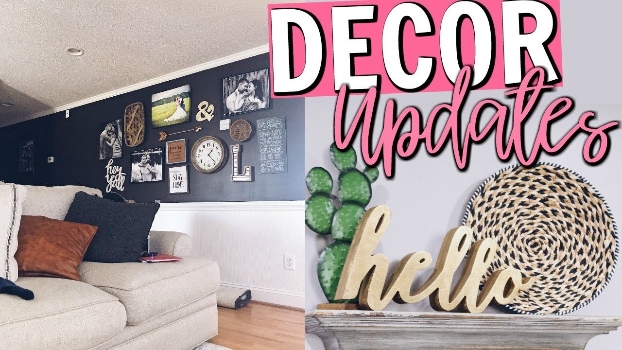 LIVING ROOM DECOR UPDATES 2018 | BUDGET FRIENDLY FARMHOUSE STYLE DECOR IDEAS  | Page Danielle