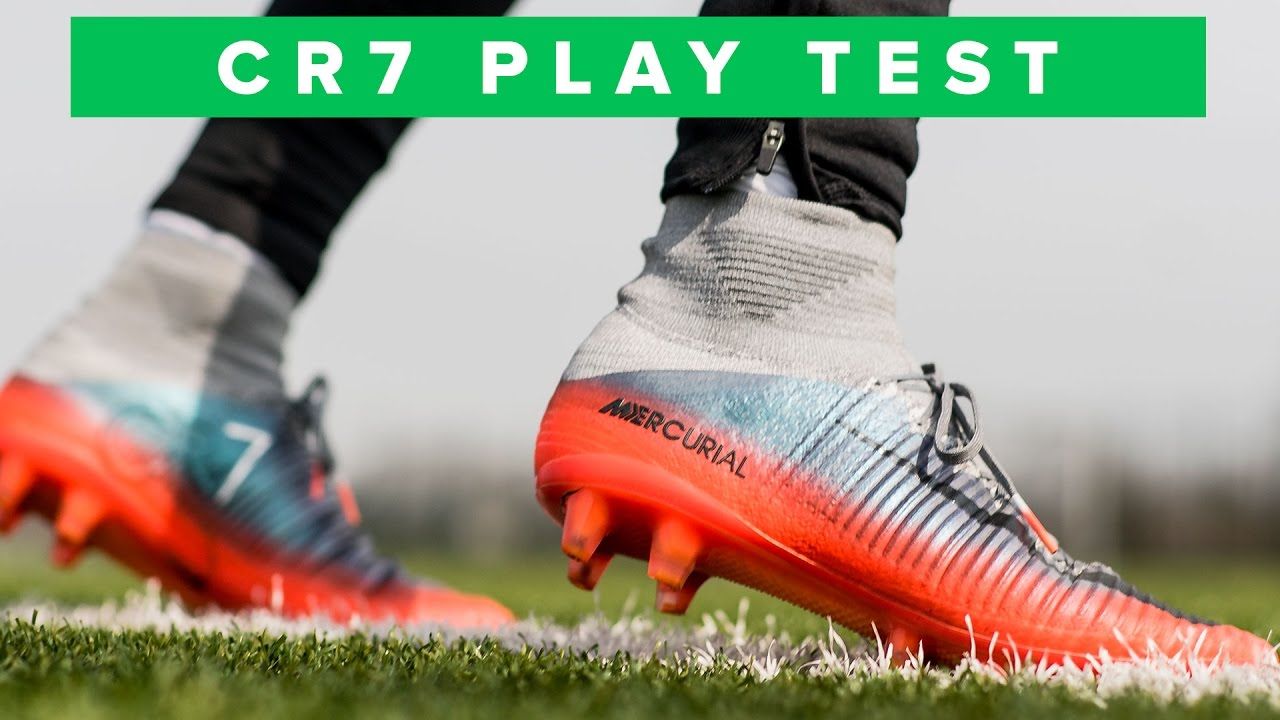 e925b619e CR7 NIKE MERCURIAL SUPERFLY PLAY TEST