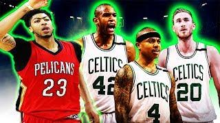 Anthony Davis to the Celtics? Boston preparing for BLOCKBUSTER TRADE!