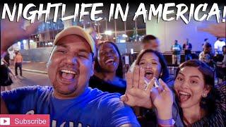 American Night life || Indian in America || Sunty Dreams