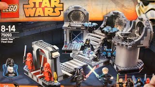 LEGO Star Wars 75093: Звезда Смерти – Последняя схватка