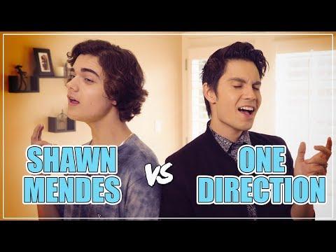 SHAWN MENDES vs ONE DIRECTION Mashup!! ft. Sam Tsui & Alexander Stewart