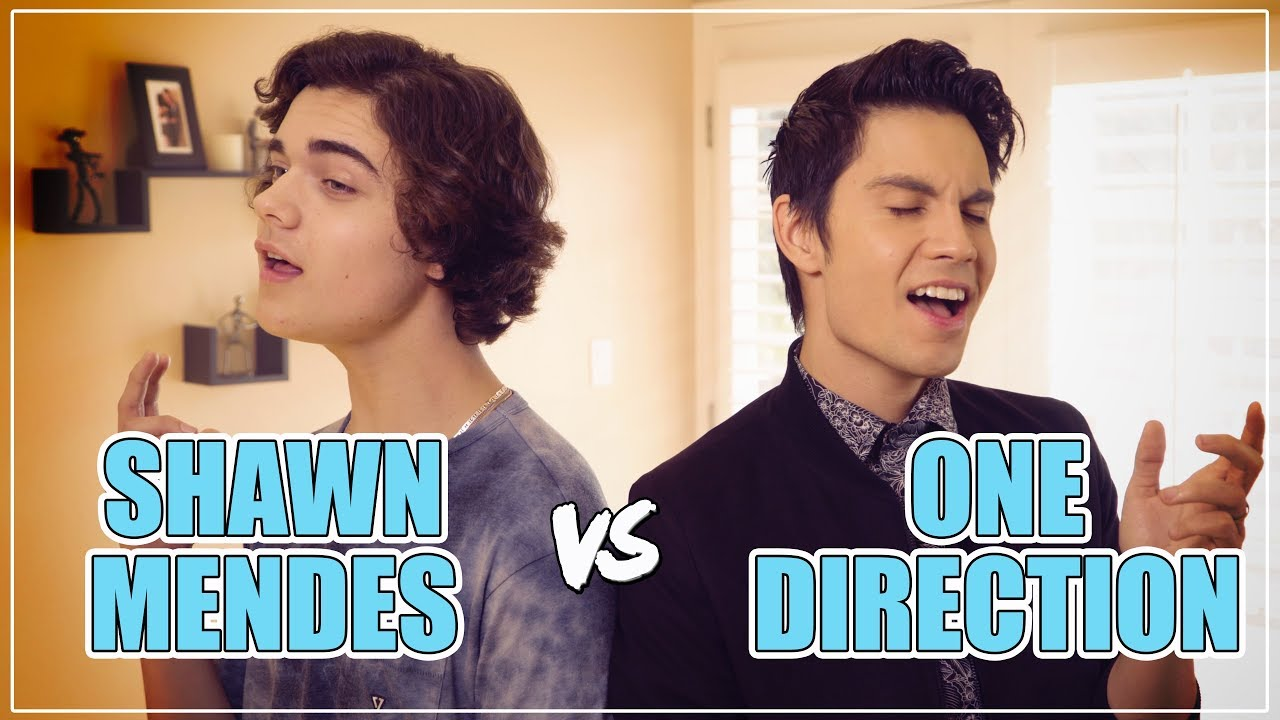 SHAWN MENDES Vs ONE DIRECTION Mashup Ft Sam Tsui & Alexander