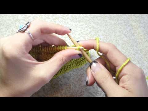 Beginner Knit Washcloth
