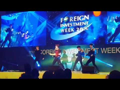 160928 SHINee Taemin  performing at foreign investment week 2016