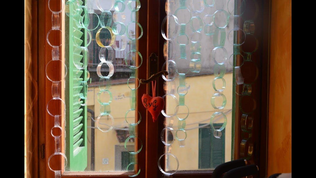Diy riciclare una bottiglia di plastica in una tenda per casa originale youtube - Fermatovaglia per tavoli di plastica ...
