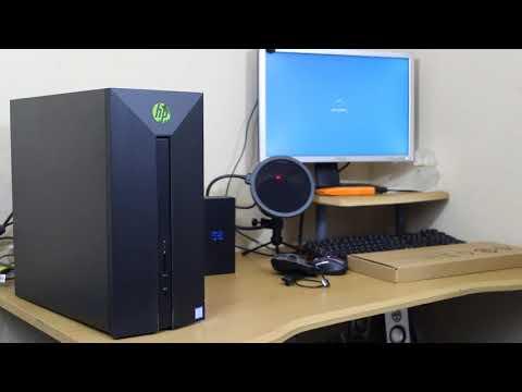 Unboxing Hp Pavilion Gaming Desktop 580 023w Impreciones Punto De Vista Economico Youtube