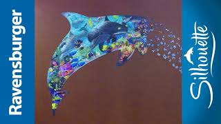 Ravensburger Silhouette Dolphin - 862 pc