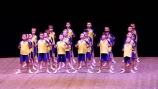 Танец Футбол Ансамбль радость Винница 05 2016