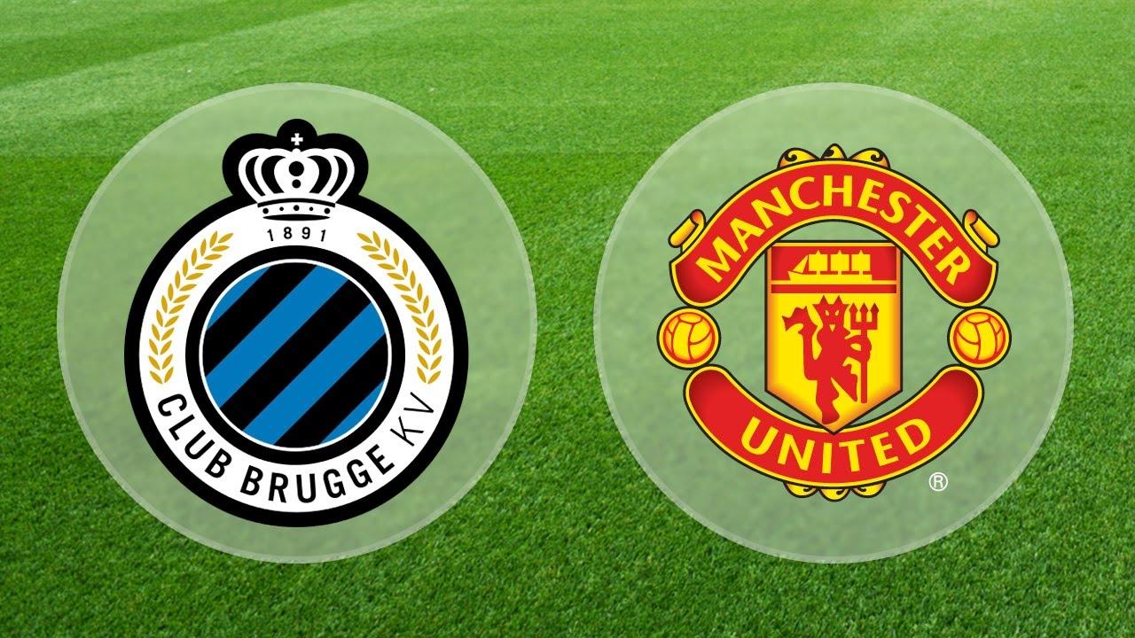 Club Brugge Vs Manchester United 26 8 15 Youtube