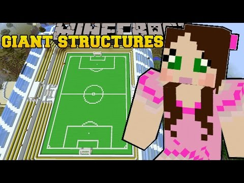 Minecraft: INSTANT MASSIVE STRUCTURES (OVER 800 EPIC STRUCTURES!) Mod Showcase