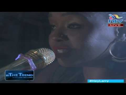 Muthoni Drummer Queen performs 'Kenyan Message' on #theTrend