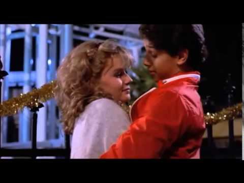 Kissing scene from The Karate Kid (1984)