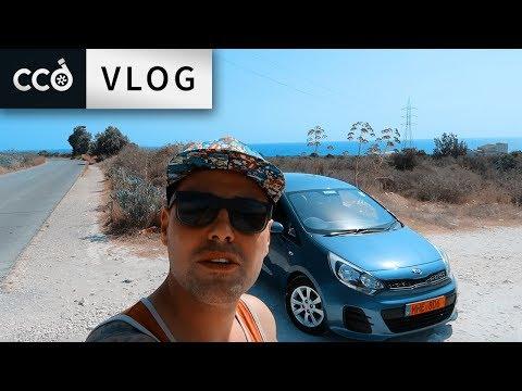 Kia Rio Review In Cyprus! [ENGLISH] Hiring A Car Abroad