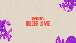 John Legend - Bigger Love (Remix) [feat. Mau y Ricky] [Lyric Video]