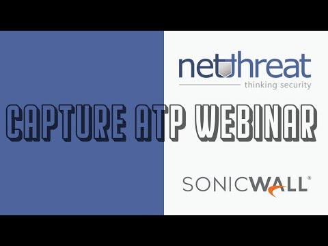 NetThreat SonicWall Webinar, March 2017