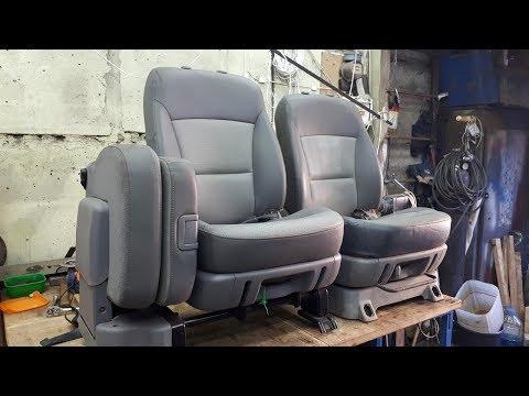 Hyundai Grand Starex. Переделка механизмов сидений. Часть 1.