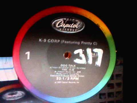 K9 Corp Feat PrettyC  Dog Talk DJ 317 tweekd vinyl 1983