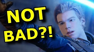 Well Star Wars Jedi Fallen Order is ACTUALLY GOOD?! - Review