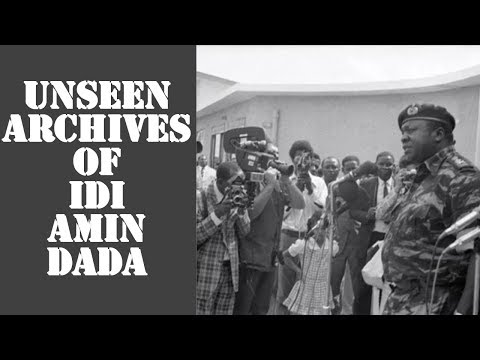 Unseen Archives Of Idi Amin Dada Revealed On International Museum