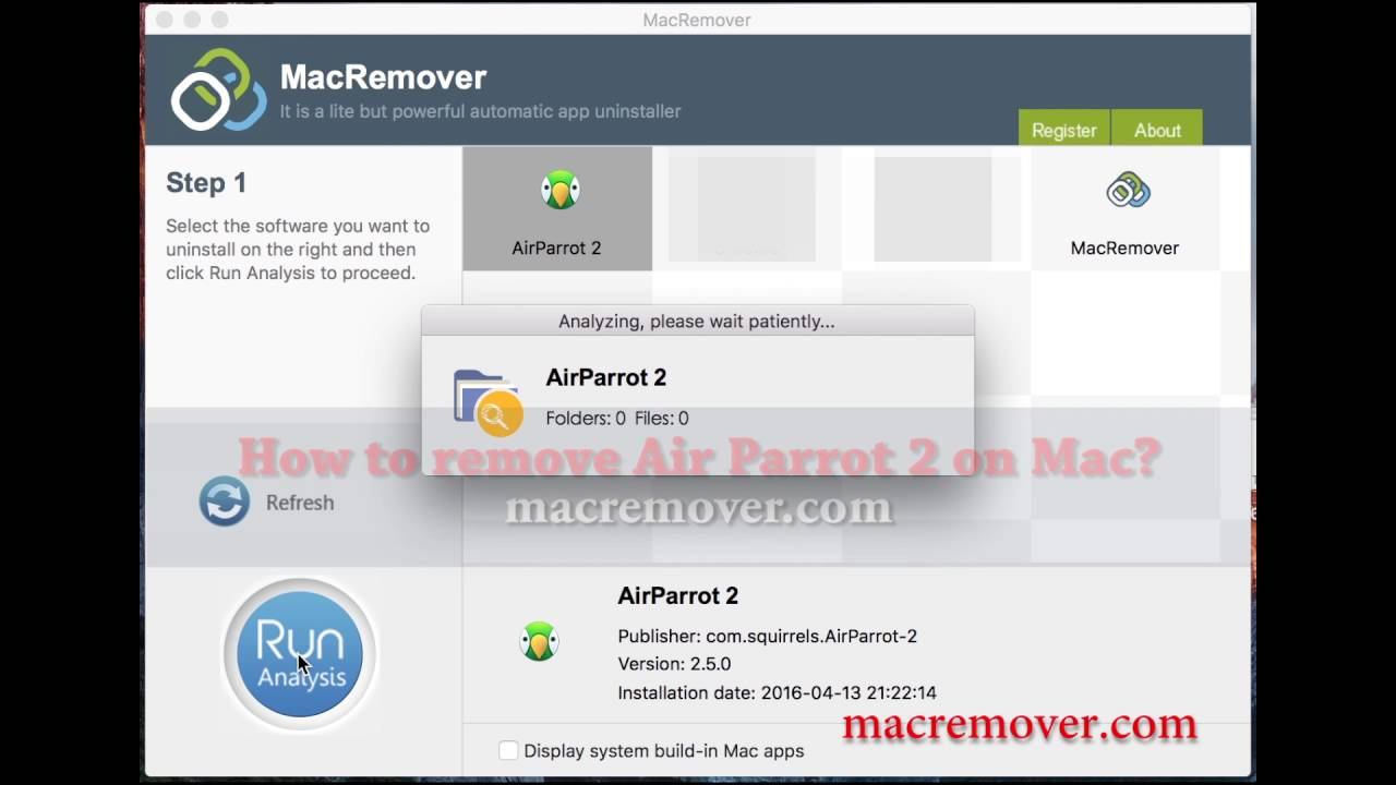 Find And Remove AirParrot 2 On Your Mac
