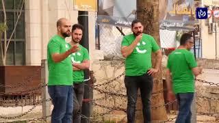 """""""كريم"""" تسيير رحلات مجانية لنقل المصلين للمسجد الأقصى من رام الله إلى حاجز قلنديا - (26-5-2018)"""