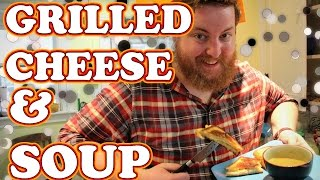 How To Make Grilled Cheese & Tomato Soup