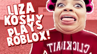 LIZA KOSHY PLAYS ROBLOX!