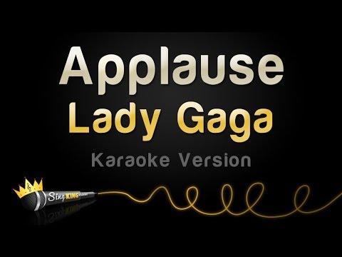 Lady Gaga - Applause (Karaoke Version)
