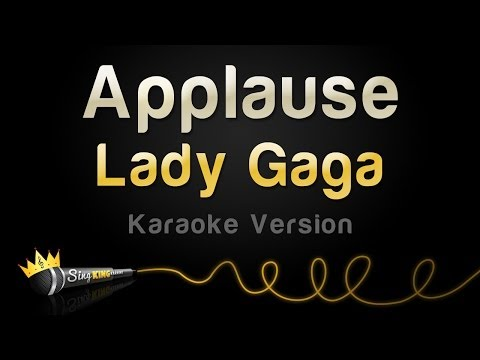 Lady Gaga - Applause (Karaoke Version)
