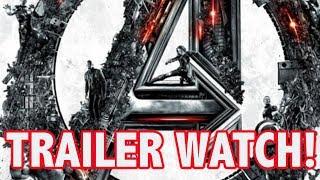 Avengers 4 Trailer Update - Thanos Snaps Trailer Away
