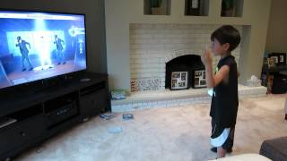 Playstation 3 Michael Jackson the Experience - Smooth Criminal Dance by 7 year old