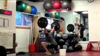 """CrossFit - """"Bull"""" Hero WOD Demo with Kevin Montoya"""