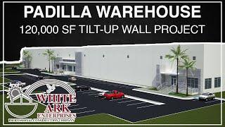 Time Lapse Construction Progress Video (Padilla Warehouse)
