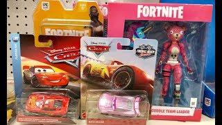 Disney Cars Fortnite Toys Hunt - We visit our 1st Target in Florida - Monster Jam & Paw Patrol Toys