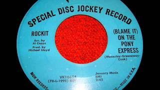 Rockit - Blame it on the Pony Express (Verve Records, 1971)
