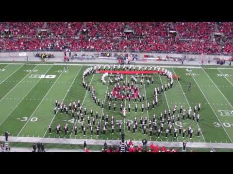 Ohio State Marching Band Hollywood  Blockbusters Halftime Sh