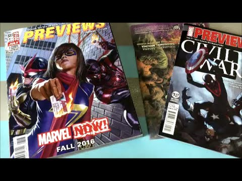 July 2016 Comics Previews for September 2016 - Previews Episode VIII