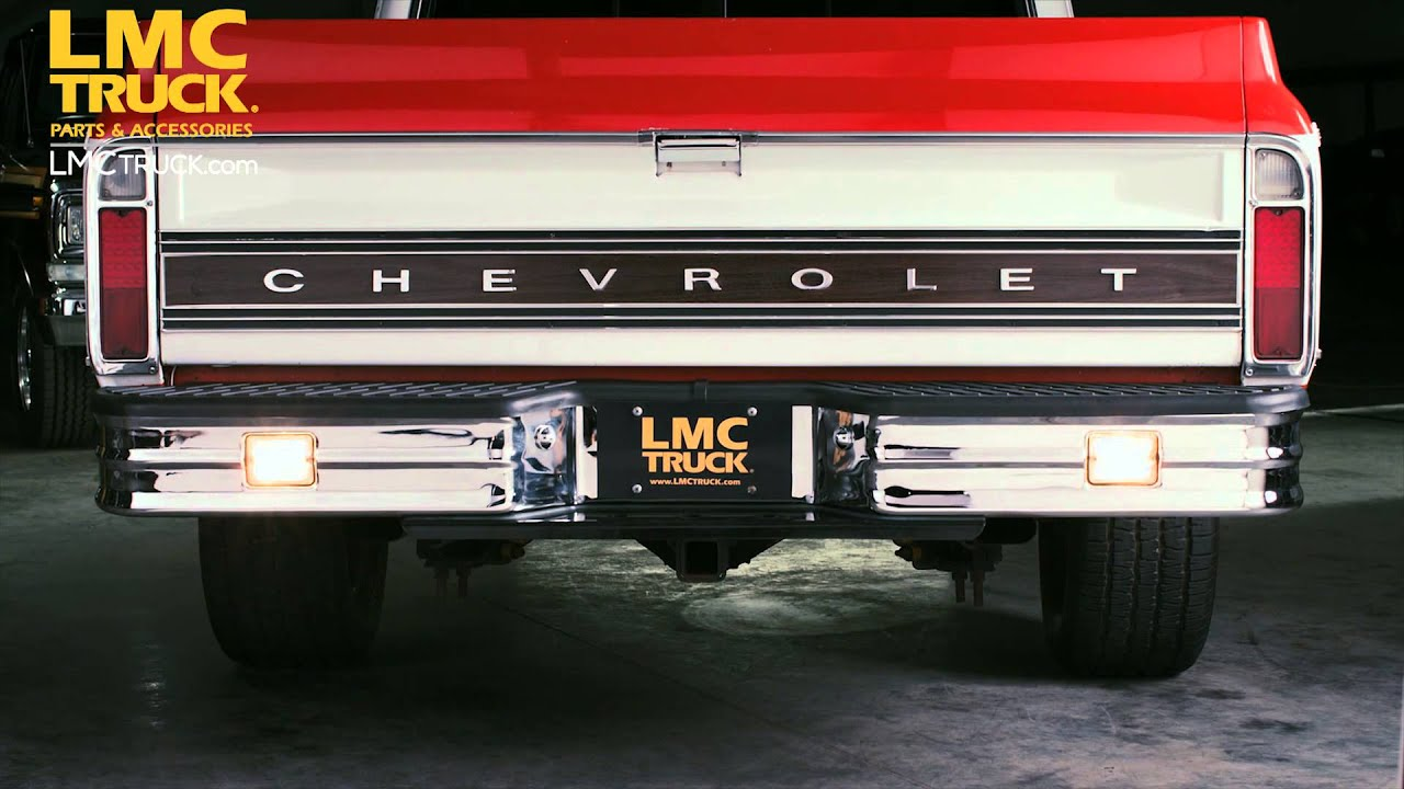 LMC Truck Starlite Bumpers