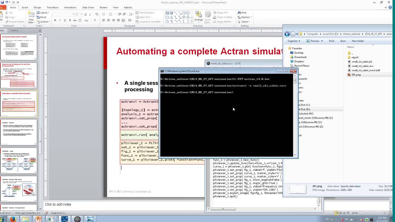 Api Scripting For Work Automation And Design Optimization For