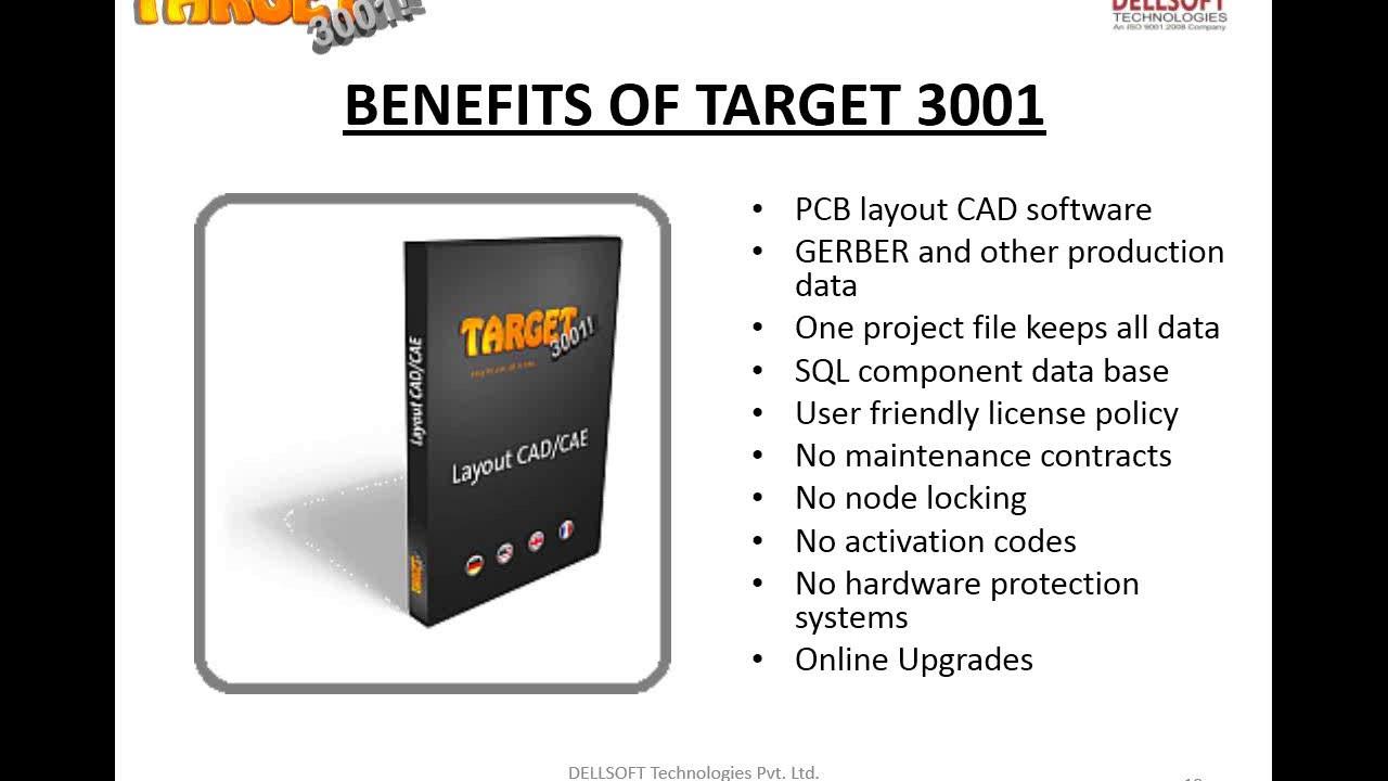 PCB Design & Simulation using Target 3001 Software- Webinar 29/10 ...