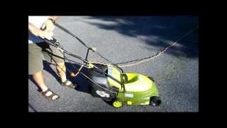 Mow Joe Electric Lawnmower - Review