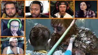 Let's Players Reaction To Atreus Killing Modi | God Of War (PS4)